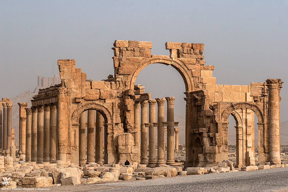Friends Of Syria >> The ancient Roman Ruins of Palmyra