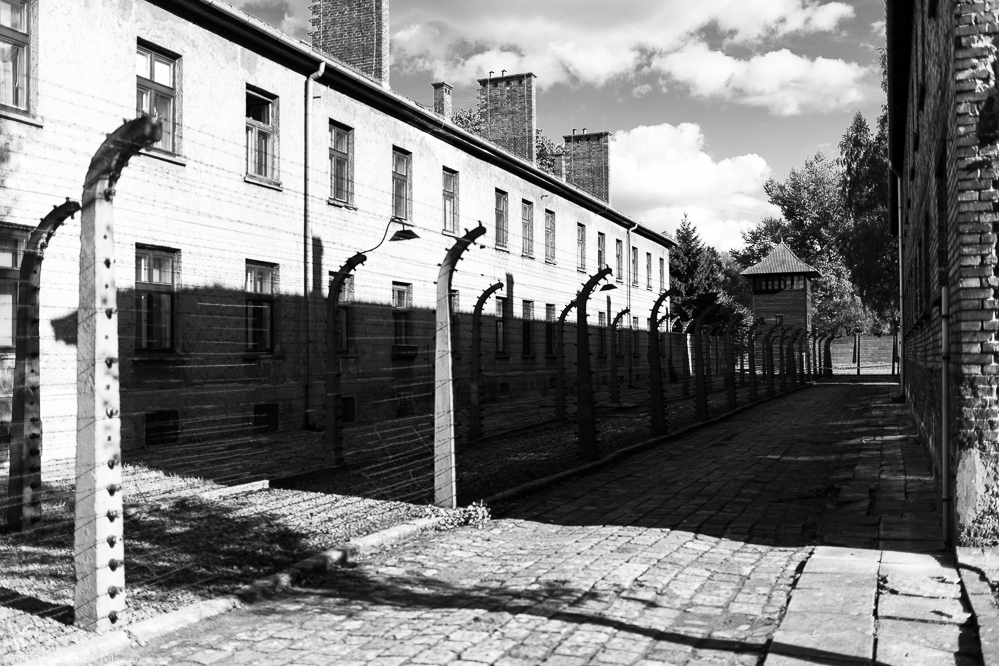 Entrance Building To The Concentration Camp High-Res Stock ... |Concentration Camps Buildings