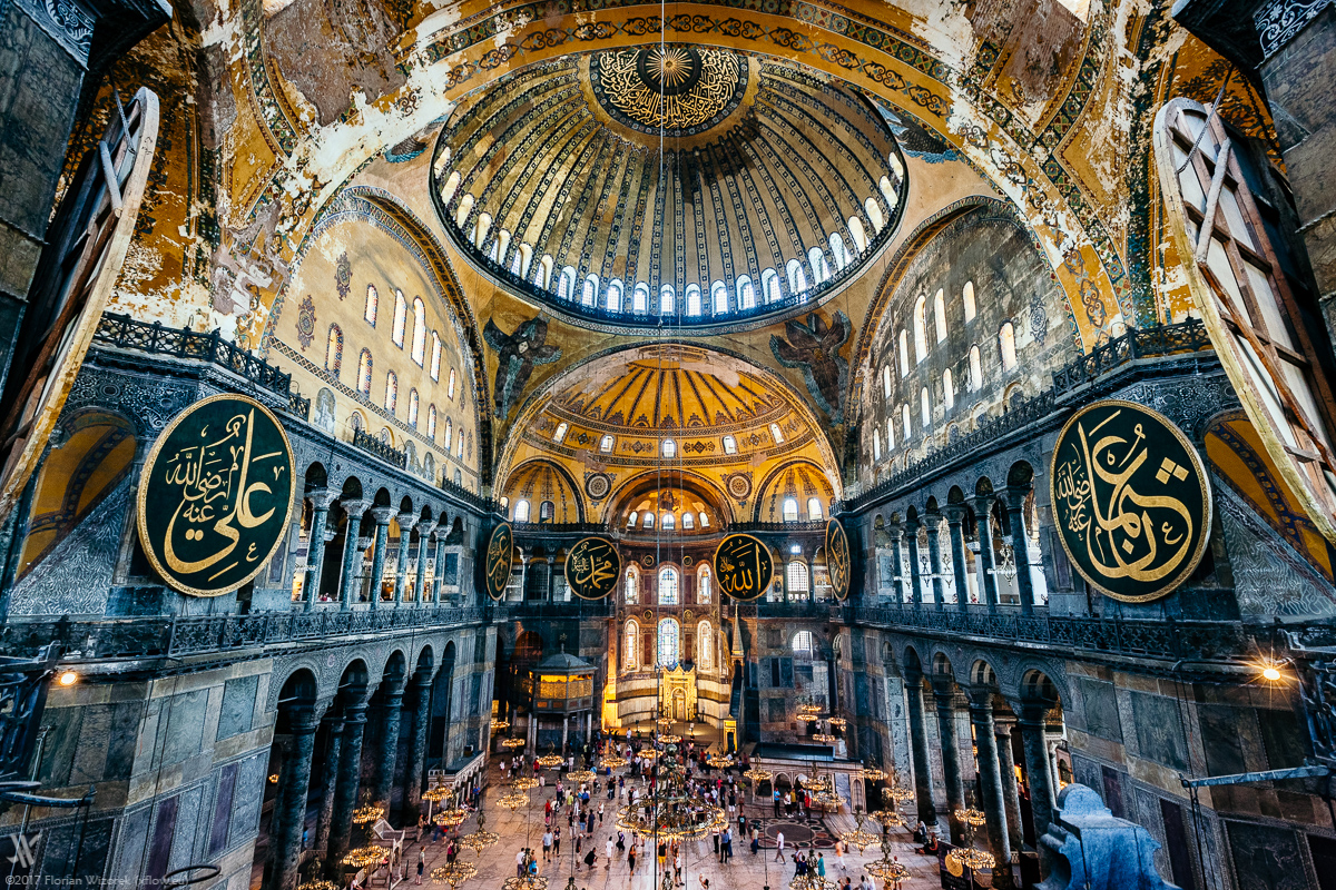 Hagia Sophia The Mosque Once Being A Church