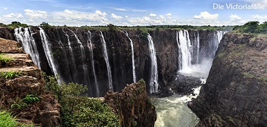 Reisebericht - Die Victoriafälle des Sambesi