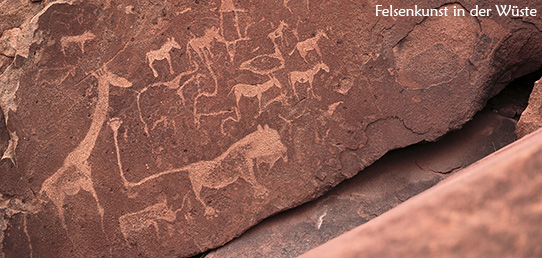 Reisebericht - Wale in der Wüste – Die Felsmalereien von Tsodilo Hills und Twyfelfontein