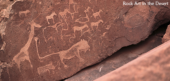 Travel Report - Wales in the Desert – The Rock Paintings of Tsodilo Hills and Twyfelfontein