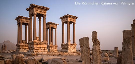 Reisebericht - Orient - Palmyra/Syrien