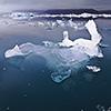 Iceland, South, Jökulsárlón lagoon