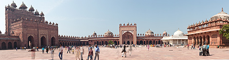 India, Fatehpur Sikri Panorama
