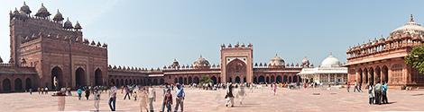 Indien, Fatehpur Sikri Panorama