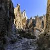 Neuseeland, Südliche Alpen, Clay Cliffs