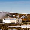 Das Svartsengi Geothermalkraftwerk