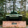 Soviet tank memorial in in Brandenburg upon Havel