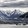 New Zealand, Southern Alps, Mount Cook, Lake Pukaki