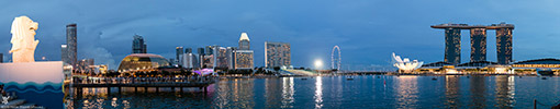 Singapore, Marina Bay Panorama