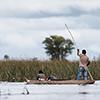 Okavango Delta, Botswana, Poler