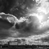 Berlin, Himmel, Wolken