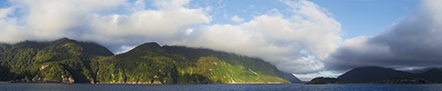 Neuseeland, Doubtful Sound, Panorama
