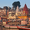 Ghats and Hindus, Varanasi/India