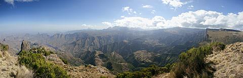 Simien Mountains Panorama