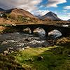 Sligachan Brücke, Skye