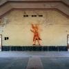Olympisches Dorf, Hindenburg-Haus, Lenin Wandbild