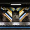 Stockholm, Tunnelbana,Västra skogen