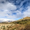 New Zealand, Southern Alps, Clay Cliffs