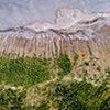 Tengger caldera drone image
