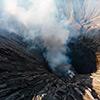 Drohne Bromo Vulkan