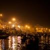 Ganga Aarti Zeremonie, Varanasi/Indien
