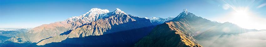 Mardi Himal Trek panorama