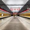 Prague metro line C, Kobylisy
