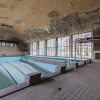 Olympic Village, swimming pool