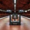 Stockholm, Tunnelbana,Skarpnäck