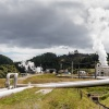 Taupo, geothermal power station