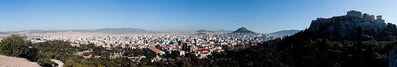 Athens Acropolis panorama
