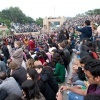 India, Attari/Wagah border closing ceremony