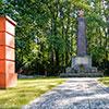 Soviet memorial in Booßen