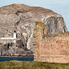Tantallon Castle und Bass Rock