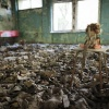 Pripyat, school, gas masks