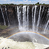 World's largest Curtain of Water – The Victoria Falls