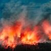 Ibu Vulkan Eruption