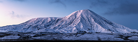 Kamtschatka, Tolbatschik, Sonnenaufgang