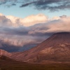 Neuseeland, Tongariro sunset