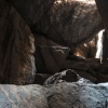 Botswana, Tsodilo Hills, rock paintings