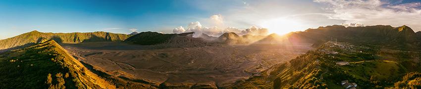 Bromo Semeru Tengger Caldera Panorama