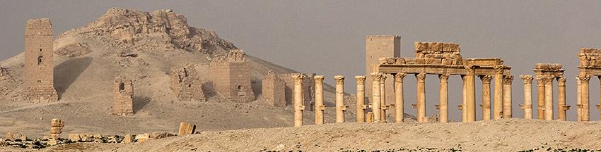 Syrien, Ruinen von Palmyra