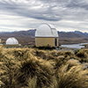 New Zealand, Southern Alps, Mount John space observatory