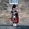 Edinburgh Dudelsackbläser