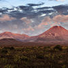 New Zealand, Tongariro sunset