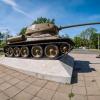 Soviet tank memorial Kienitz