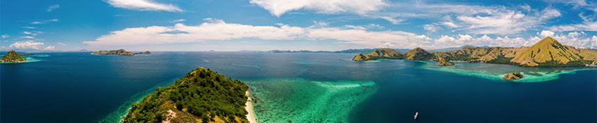 Panorama Komodo Archipel