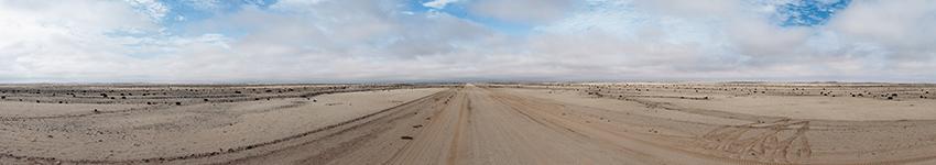 Namibia Skeleton Coast panorama